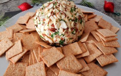 Holiday Cheese Ball Appetizer